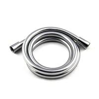 bathroom pvc high pressure silver smooth shower hose for bath handheld shower head flexible shower hose anti winding