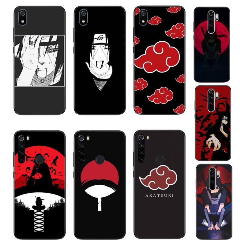 MaiYaCa Anime Naruto Itachi Phone Case Cover For Xiaomi Redmi 4X 5A 6A 6 7 8 9 5Plus Note5 5A 8Pro 8