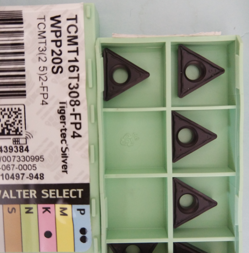 WALTER 10PCS  CARBIDE INSERT TCMT16T308-FP4 WPP20S