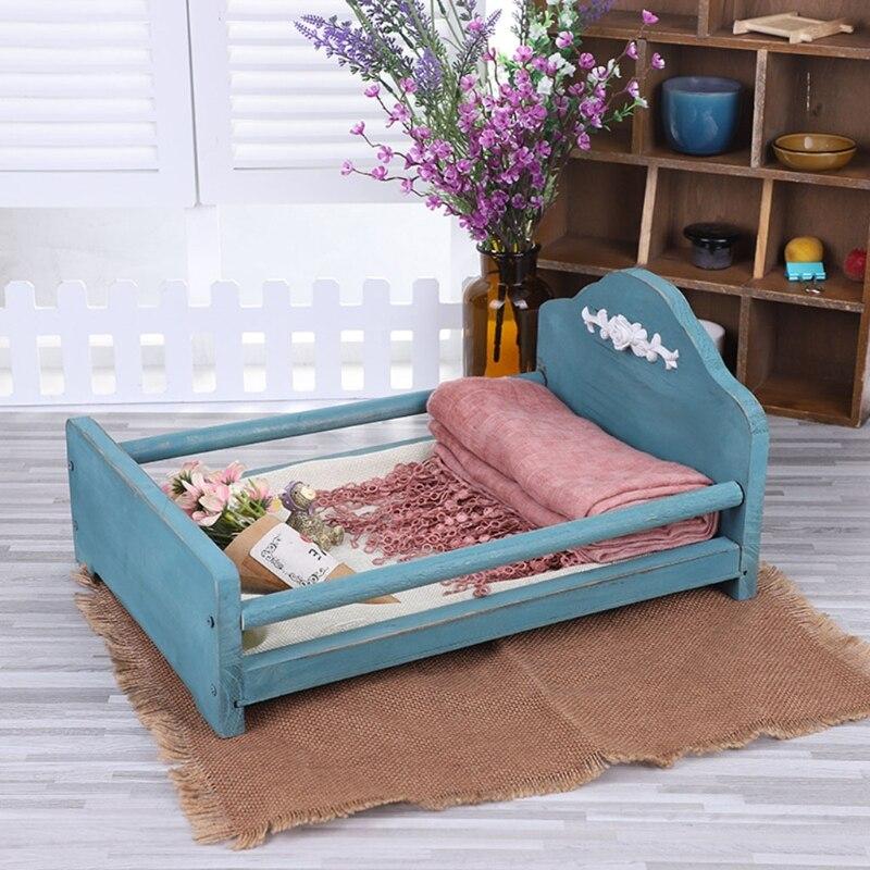 berco de madeira para bebe destacavel mini cama para bebes recem nascidos acessorios para fotos
