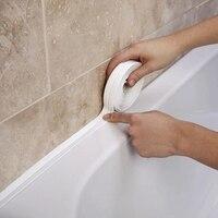 Лента Уплотнительная водонепроницаемая, 3,2 м, ПВХ, для кухни, ванной комнаты, инструменты для границы трещин