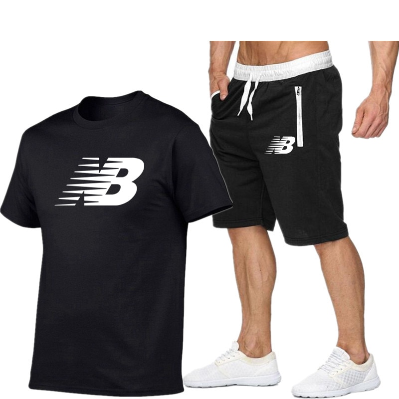 2021 new hot selling sportswear casual mens and womens running shorts football T-shirt s-2xl