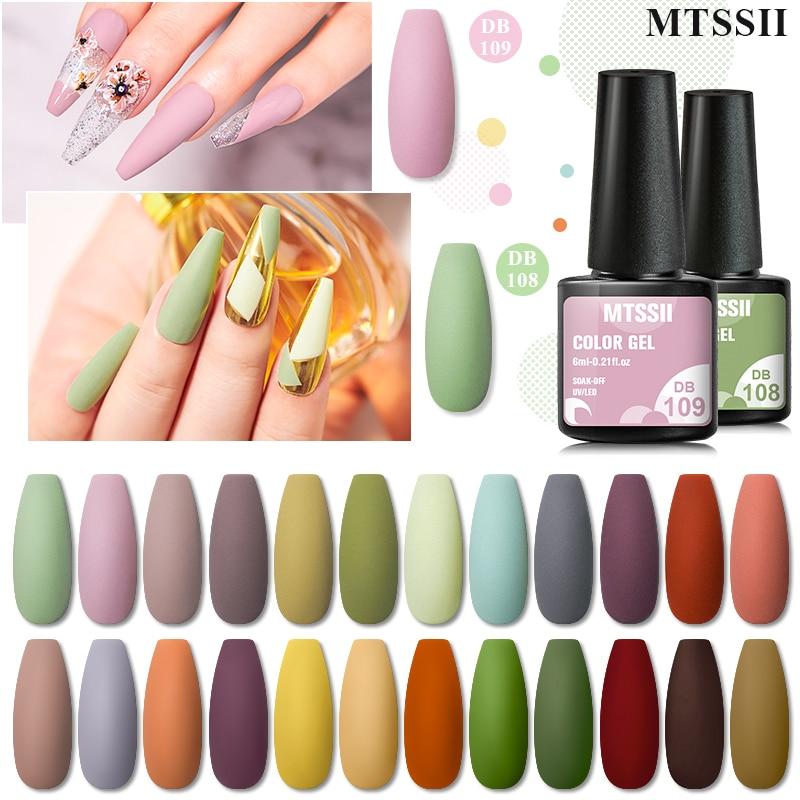 Nail Art Color Gel Nail Polish Manicure Soak Off UV LED Nail Varnishes Semi Permanent Base Top Coat Gel Varnish DIY Nail Art