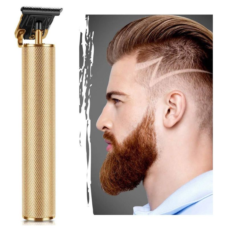 Professional Hair Clippers Men T-Blade Beard Trimmer Barber Grooming Cordless A0NC enlarge