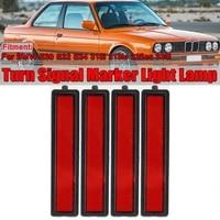turn signal marker light lamp for bmw e30 e32 e34 3 series l or r replacement rear bumper side marker light