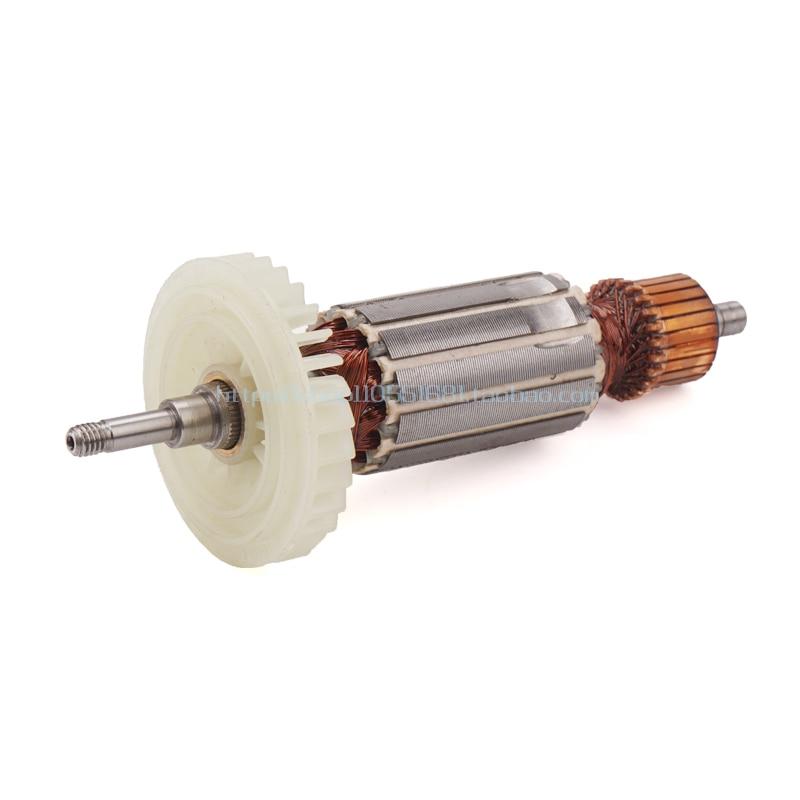 AC220-240V угол ротор дробилки для Makita 9553NB 9553HB 9553HN 9555HN 9553 якорь ротор статор шестерни запчасти электроинструмента