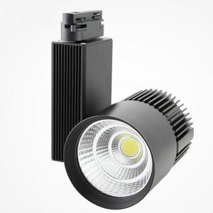 LED Track Light 20W 30W 40W COB Track Lamp Lights Rail Spotlights Leds Tracking Fixture Spot Lights Reflectors for clothes Store