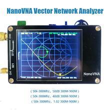 Kuulee NanoVNA VNA 2.8 pouces LCD HF VHF UHF UV vecteur analyseur de réseau 50KHz-900MHz analyseur dantenne batterie intégrée