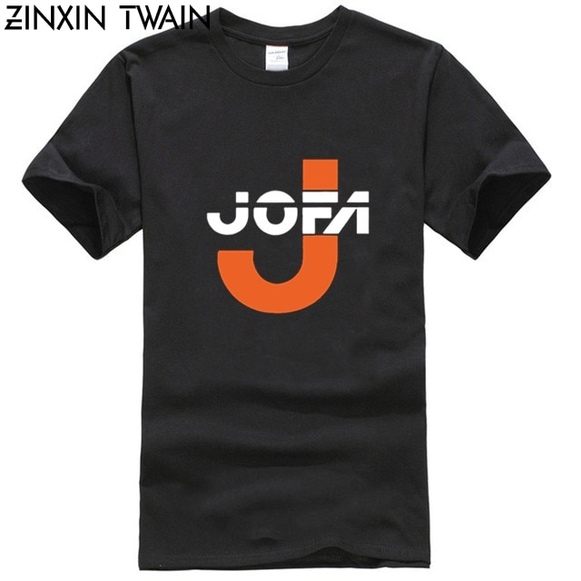 Camiseta gráfica creativa a la moda, Top JOFA hockey Sporter Helmet Gretzky, azul real, nuevo de ee.uu., camiseta estampada, tendencia