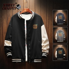 Men's Casual Jacket Harajuku Vintage Chinese Style Hip Hop Creativity Streetwear Male 2021 Fashion Q