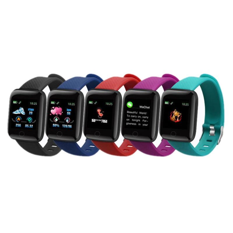 D13 Smart Watch Women Men Kids Heart Rate Blood Pressure Monitor 116Plus Waterproof Sport Smartwatch Watch Clock For Android IOS