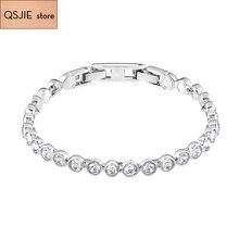High Quality SWA  Best Material, Low-key Gorgeous Fashion Woman Crystal Bracelet