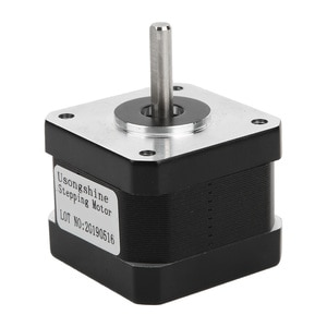 17HS3401S 17 Alloy Stepper Motor 4 Wires Equipment Supplies for 3D Printer Alloy Stepper Motor