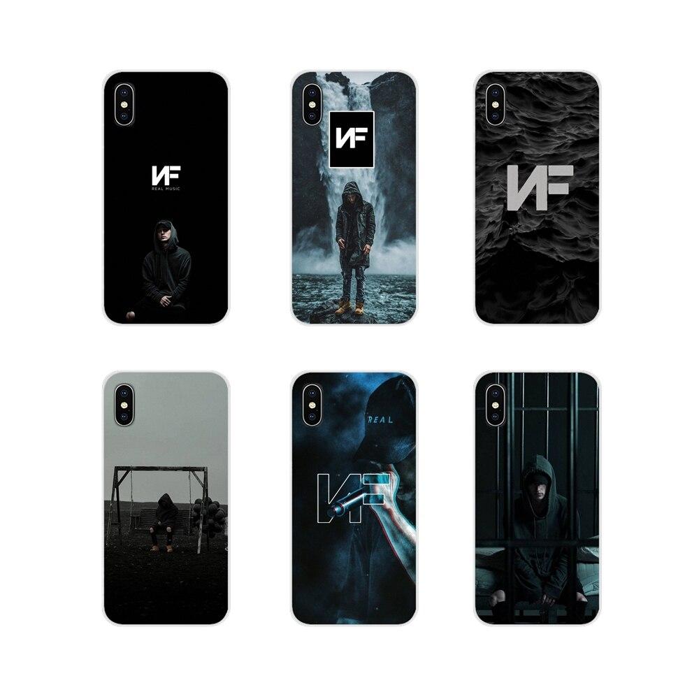 Para Xiaomi mi 4 mi 5 mi 5S mi 6 mi A1 A2 5X6X8 9 Lite SE Pro mi Max MIX 2 3 2S cubiertas de los casos del teléfono NF rapero
