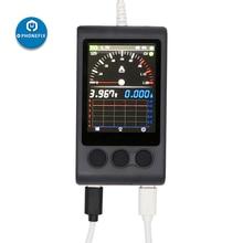 Mechanic ibootpower DC 전원 케이블 (LCD 디스플레이 테스트 박스 포함) iPhone/Android 폰용 수리 세트 전원 충전 테스트 케이블