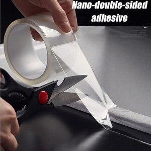 Image 1 - Прозрачная водонепроницаемая лента, многочисленные стирки с помощью волшебных наклеек, двусторонний клей, не оставляет следов