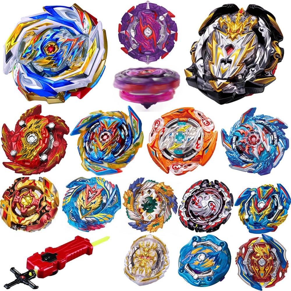 Todos los modelos lanzadores Kai Watch Land juguetes GT Arena de Metal Dios Fafnir Bey Blade hojas de juguete