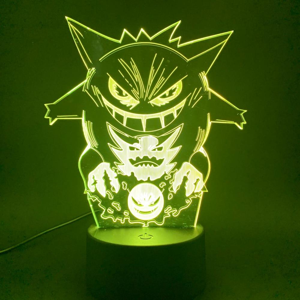Светодиодный ночник, игровой светильник, игровой светильник для детей, украшение для детской кровати, ночник, Подарочная лампа 3d, Прямая пос...