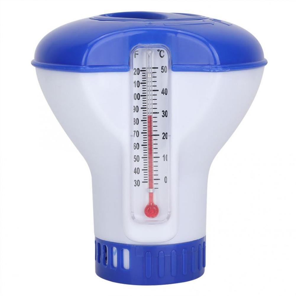 Pishinë notues kimik kimik lundrues pajisje pishine pajisje termometër dezinfektim pompë automatike aplikuese