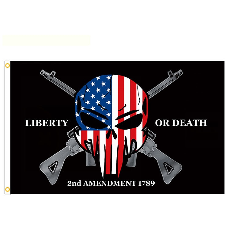 3x5ft 2nd Amendment 1789 Flag Home and Garden Decoration Banner
