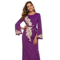 embroidered long dress abayas islamic clothing for women hijab dress muslim women dress woman abaya