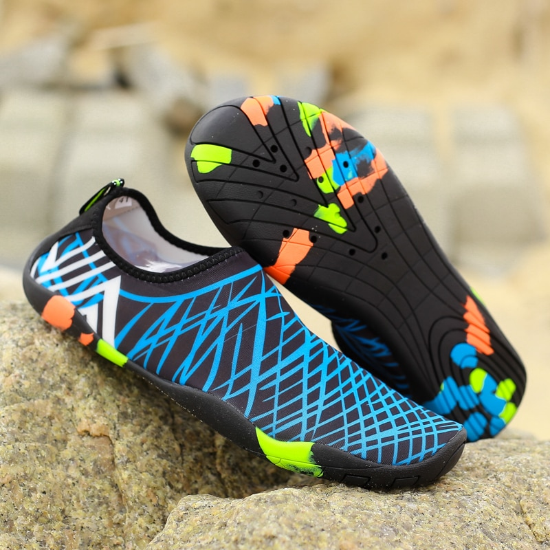 Men Women  Aqua Shoes Sneakers Quick Dry Swimming Footwear Uni Outdoor Breathable Upstream Beach Shoes