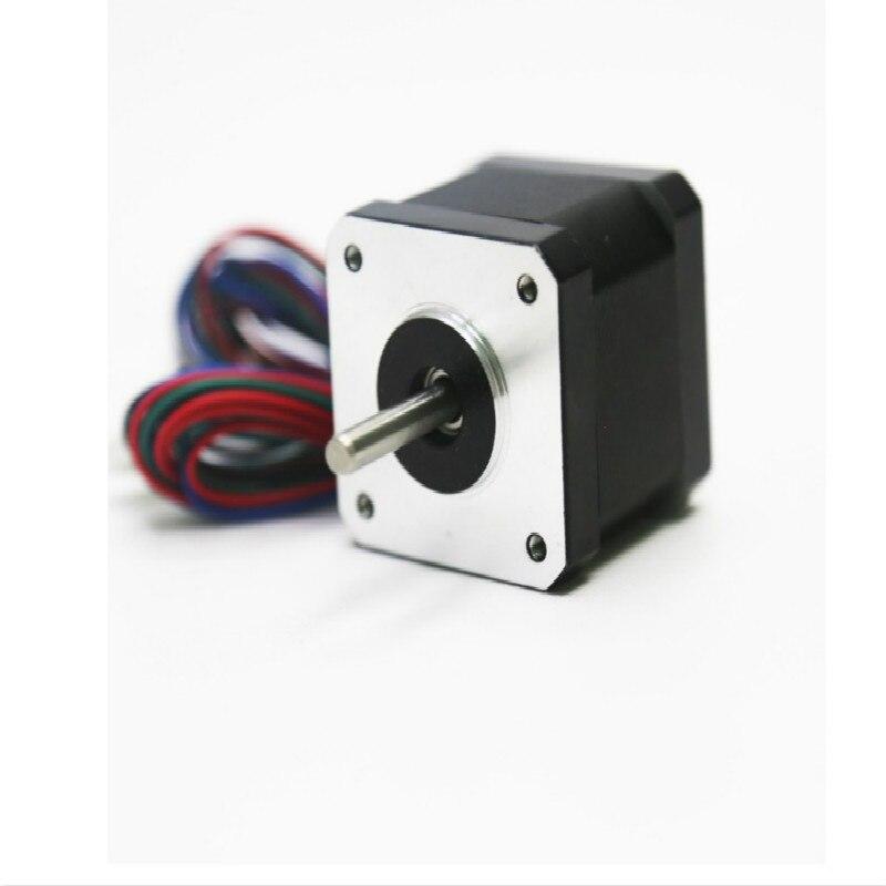 Impresora 3d parte motor escalonado con tornillo de plomo en forma de T tuerca de latón de 345mm para A8 3d kit de accesorios de piezas de impresora
