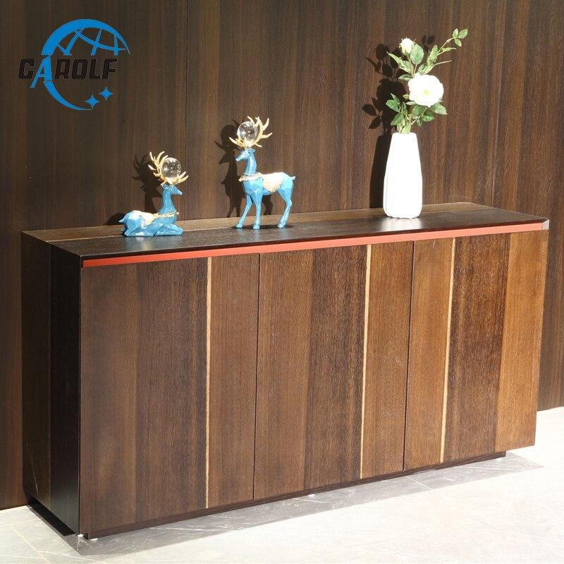 Buen Precio moderno Aparador de madera cocina Buffet Mesa