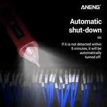 2019 voltage indicator Top Electricity Detector Pencil Test with LED Light AC Electric Tester Volt Volt Alert Pen Detector Proxy