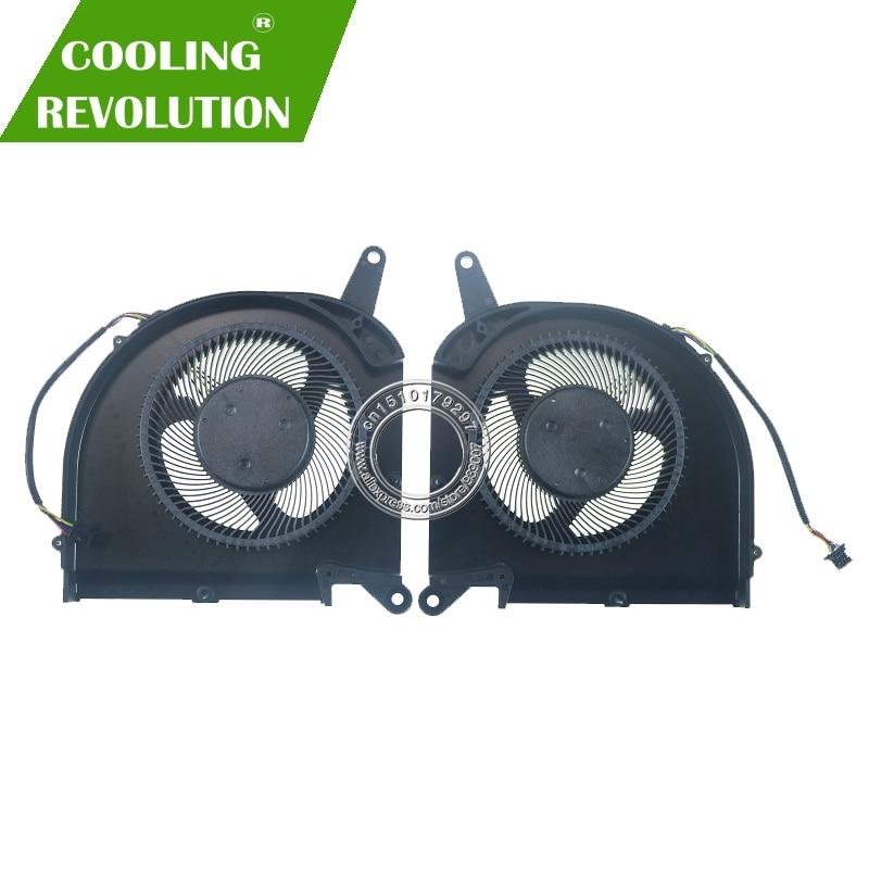 مروحة تبريد لوحدة المعالجة المركزية للكمبيوتر المحمول PLB07010S12HH DC12V 0.50A 4Pin لجيجابايت AERO 15 OLED SA 17 HDR XA RP75XA RP77XA