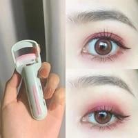 1pcs press type professional eyelash curler long lasting curling portable natural and non pinching make up tool lashes curler