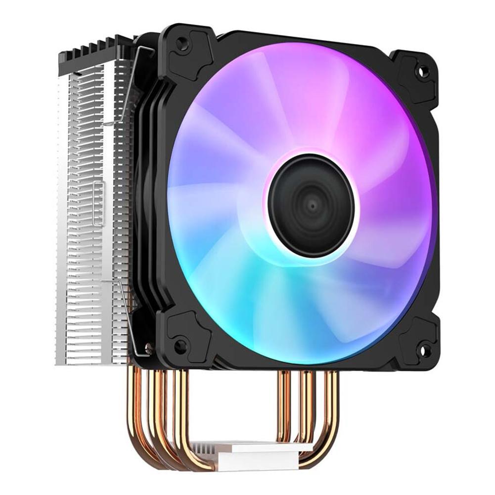 Jonsbo CR1000 Torre LED enfriador de CPU ventilador 4 Heatpipes PWM 4Pin disipador térmico de refrigeración DC 12V 4Pin para Intel/AMD