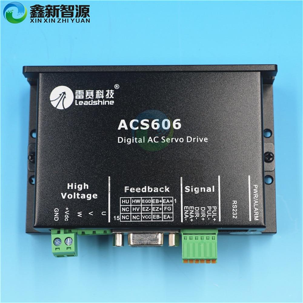 Solvent Digital Printer Wit color Allwin ACS 606 Digital Servo Drive DC Brushless Servo Motors driver ACS606 Servo motor adapter