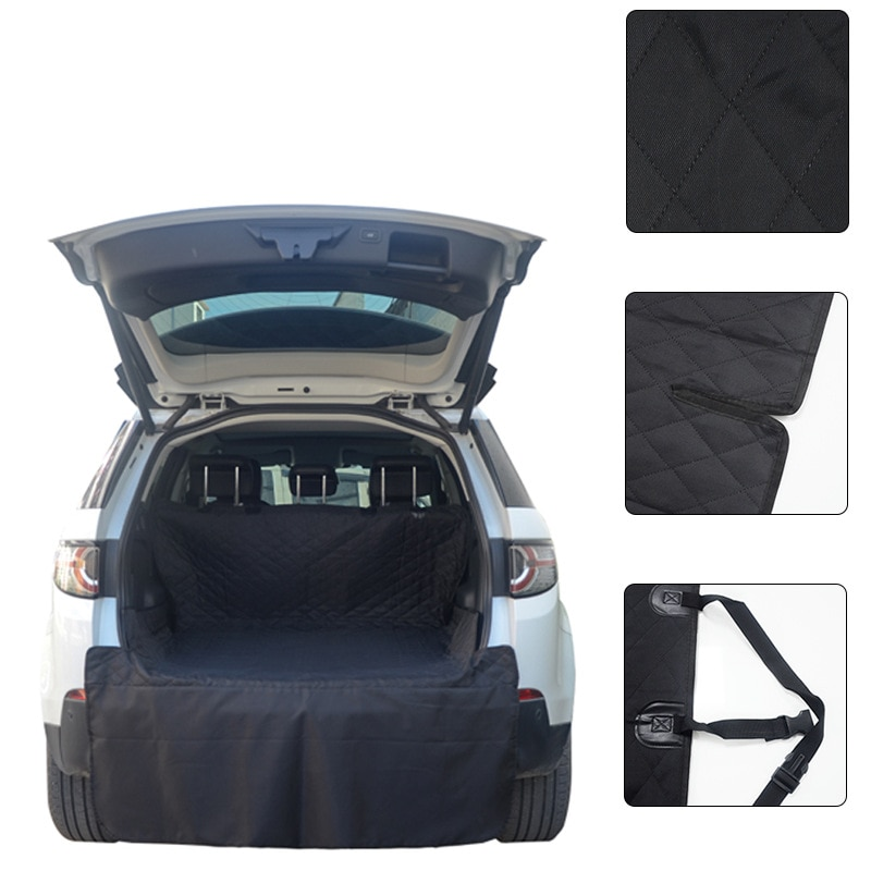 Pet Car Seat Cover Trunk Mat Tarpaulin Waterproof Oxford Cloth Dog Cat Transport Carrier Back Rear Auto Pad Protection Blanket
