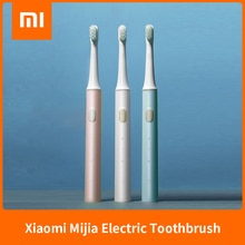 Nouveau Xiaomi Mijia T100 Mi Smart brosse à dents électrique Original 2 vitesses Xiaomi brosse à dents sonique blanchissant soins bucco-dentaires rappel de Zone