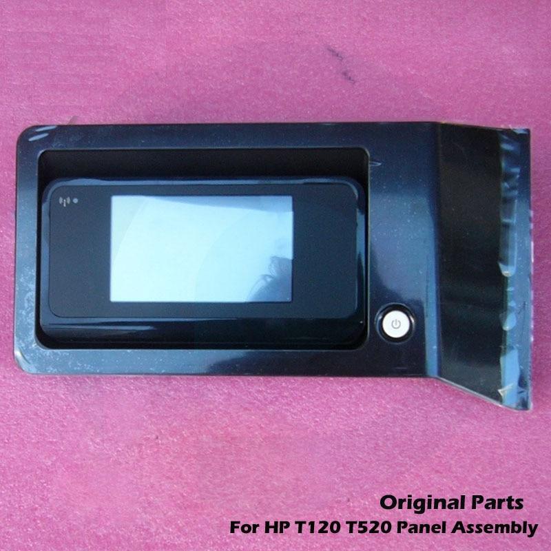 Original para Designjet Cartera de HP Designjet-T120 T520 HP520 HP120 montaje de panel de Control + Cable CQ890-67026 CQ890-67082