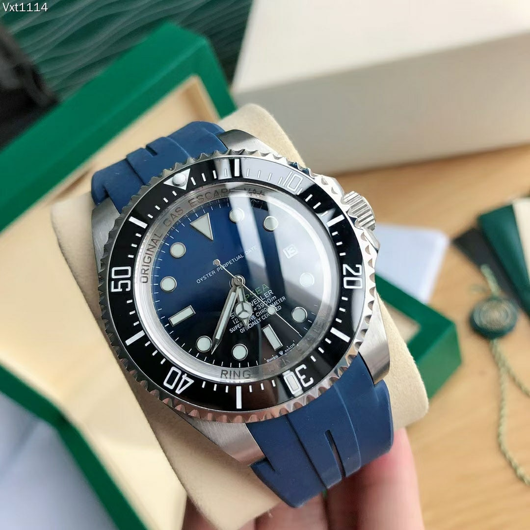 Men's Watch Automatic Mechanical Deepsea Oystersteel Series Citizen Movement Waterproof 5 Bar Stainless Steel Sapphire Glass