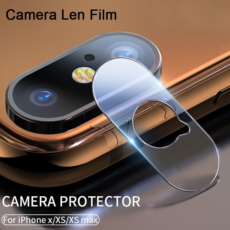 9D Hard Camera Lens Screen Protector For iPhone 11 Pro Max 7 8 6 6S Plus 5 5S Se Phone Len Protective Glass For XR XS Max X