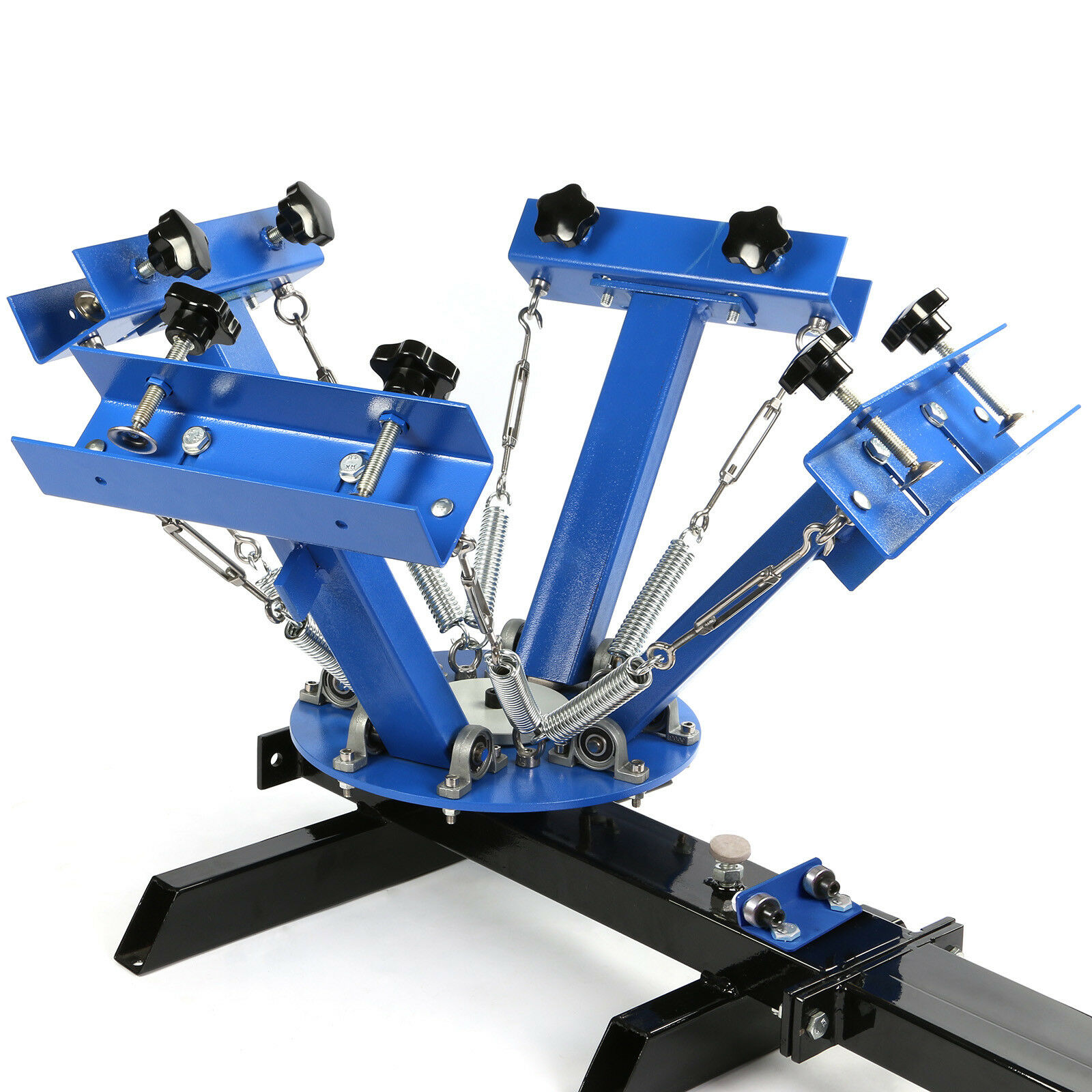 Screen Printing Press Free Shipping 4 Color 1 Station For T-Shirt DIY Printing enlarge
