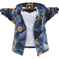 waterproof boys jackets fashion 2021 spring autumn thin kids outerwear printing windproof hooded jackets for childrens coats