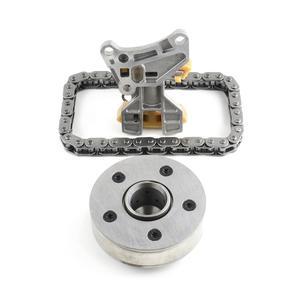 AP01 Camshaft Adjuster Unit + Tensioner + Timing Chain For Audi A3 A4 TT VW Passat Jetta Golf Eos BPY 2.0L 06F109088J 06D109229B