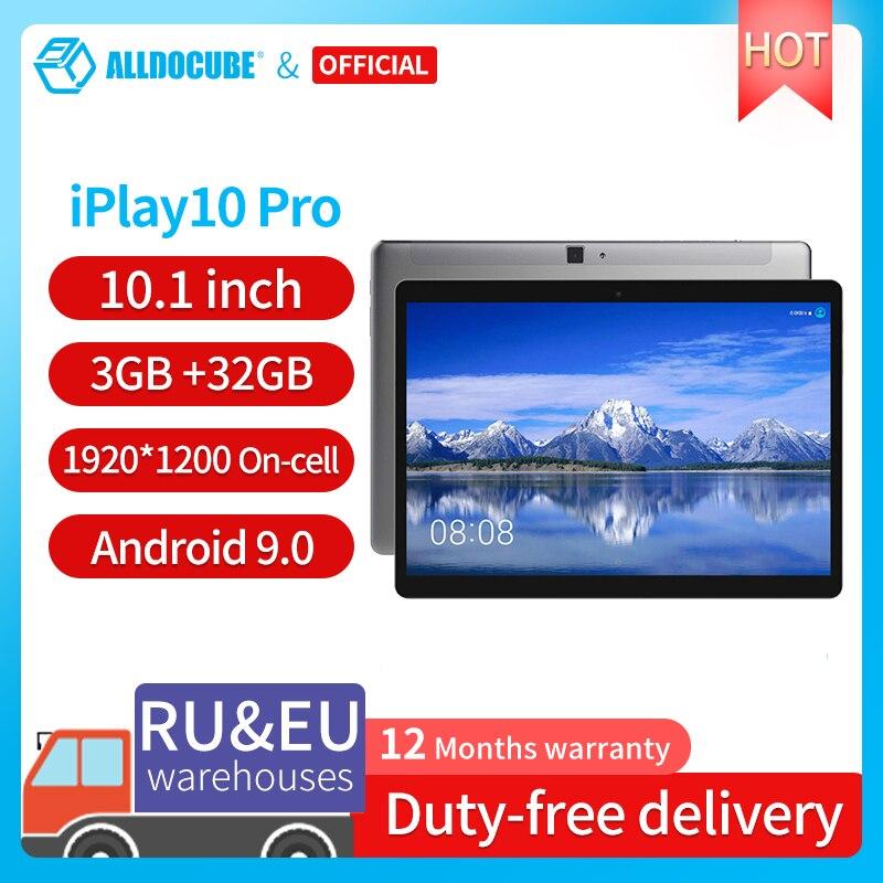 Alldocube iPlay10 برو 10.1 بوصة Wifi اللوحي الروبوت 9.0 MT8163 رباعية النواة 1200*1920 IPS أقراص PC RAM 3GB ROM 32GB HDMI وتغ