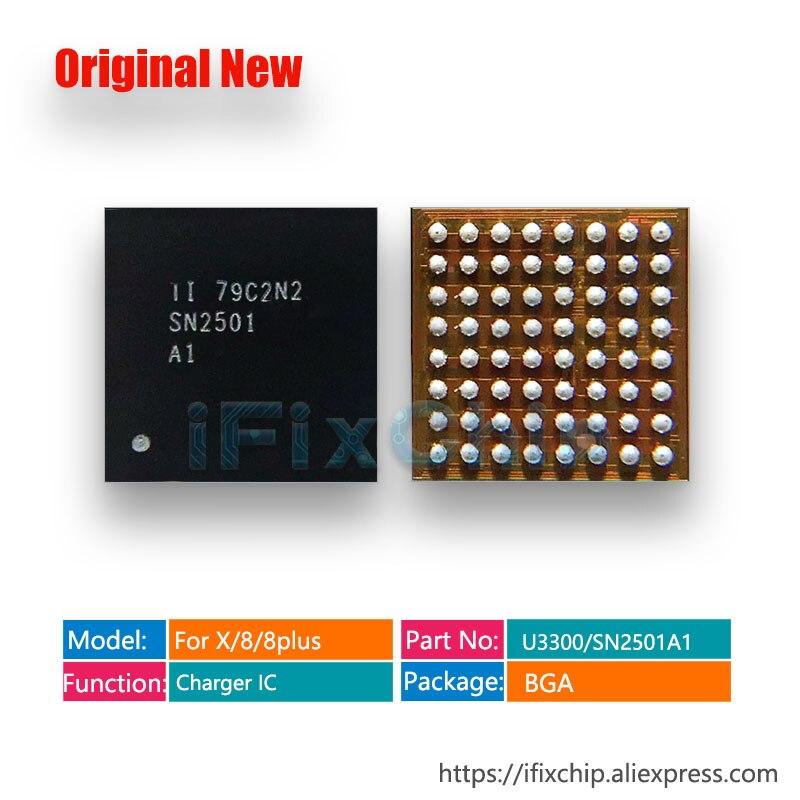 10 шт./лот, 100% новый U3300 для iphone 8/8 plus/X/8 plus, зарядка/зарядное устройство/USB/TIGRIS2 IC чип