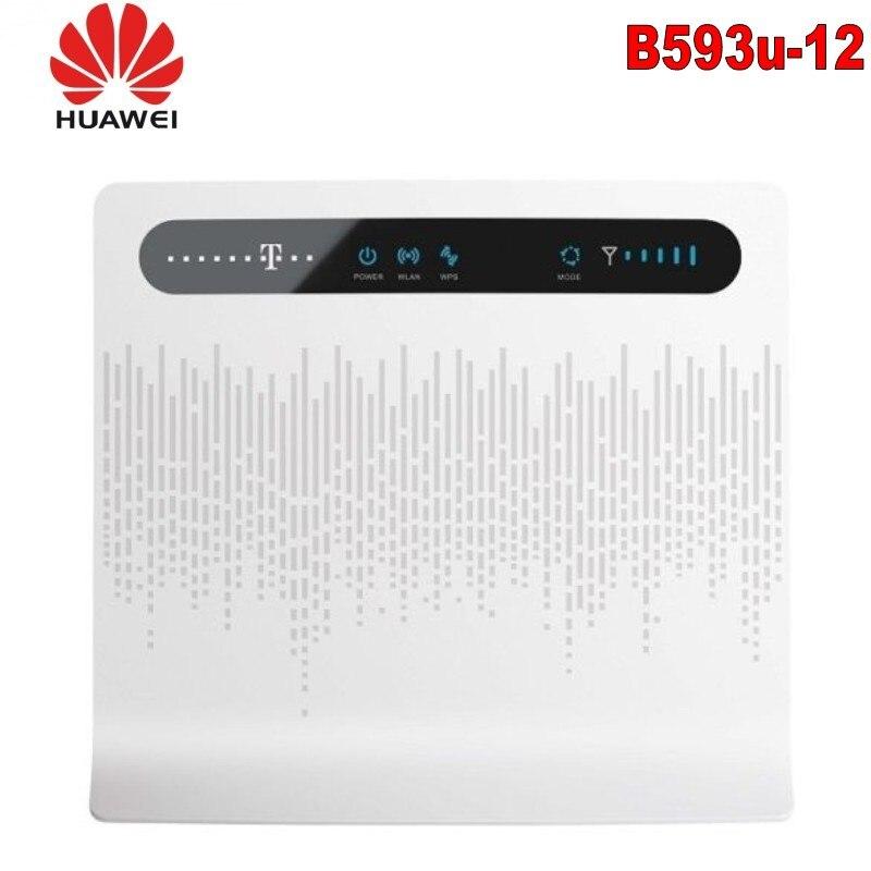 Lot of 10pcs HUAWEI B593u-12 4G LTE CPE Industrial WiFi Router,DHL shipping
