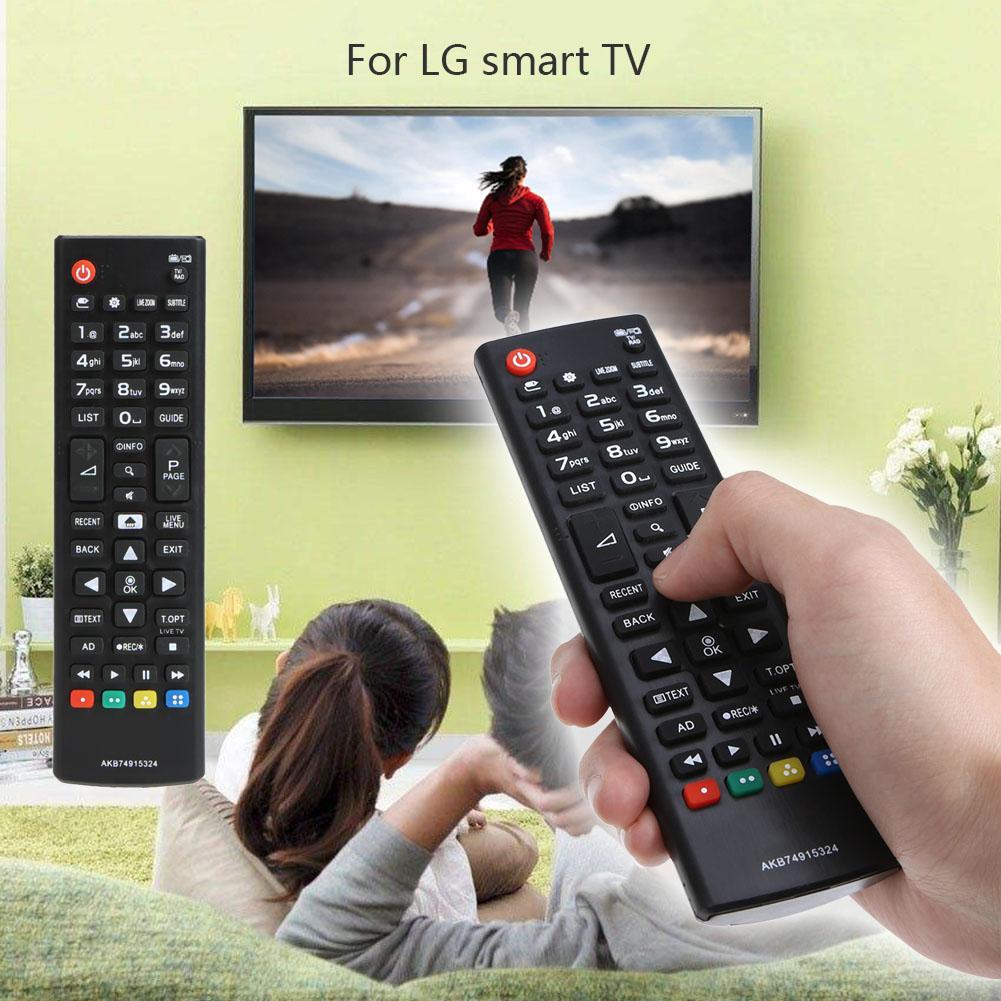 Nuevo mando a distancia negro Universal de repuesto para LG AKB74915324 Smart LCD LED TV Wireless telecommande portail