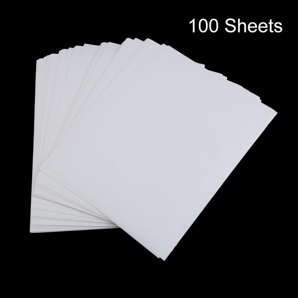 100 шт., сублимационная бумага для печати на футболках из полиэстера и хлопка
