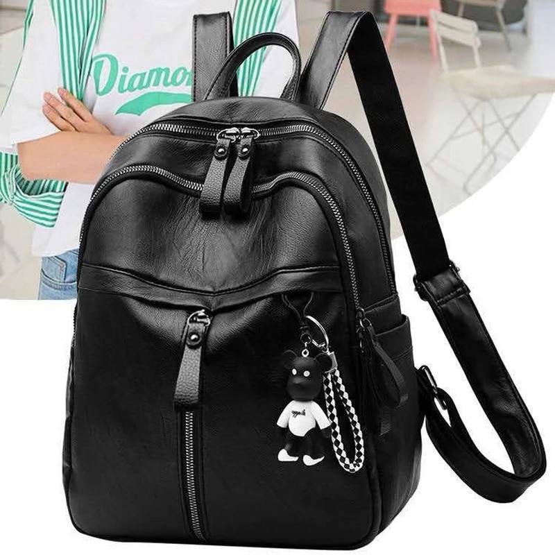 Модный женский рюкзак, высококачественные Молодежные рюкзаки из искусственной кожи для девочек-подростков, женские школьные рюкзаки, рюкз...