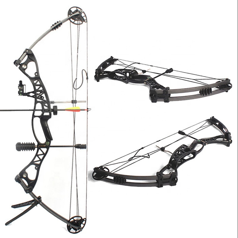 Mechanical Sliding Wheel Bow Shooting Archery Sliding Wheel Bow Competitive Archery Tournament M106 Compound Bow