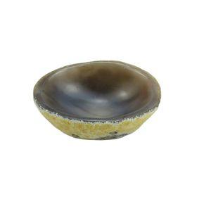 Natural Agate Raw Ore Raw Stone Ashtray Pen Wash Jade Palette