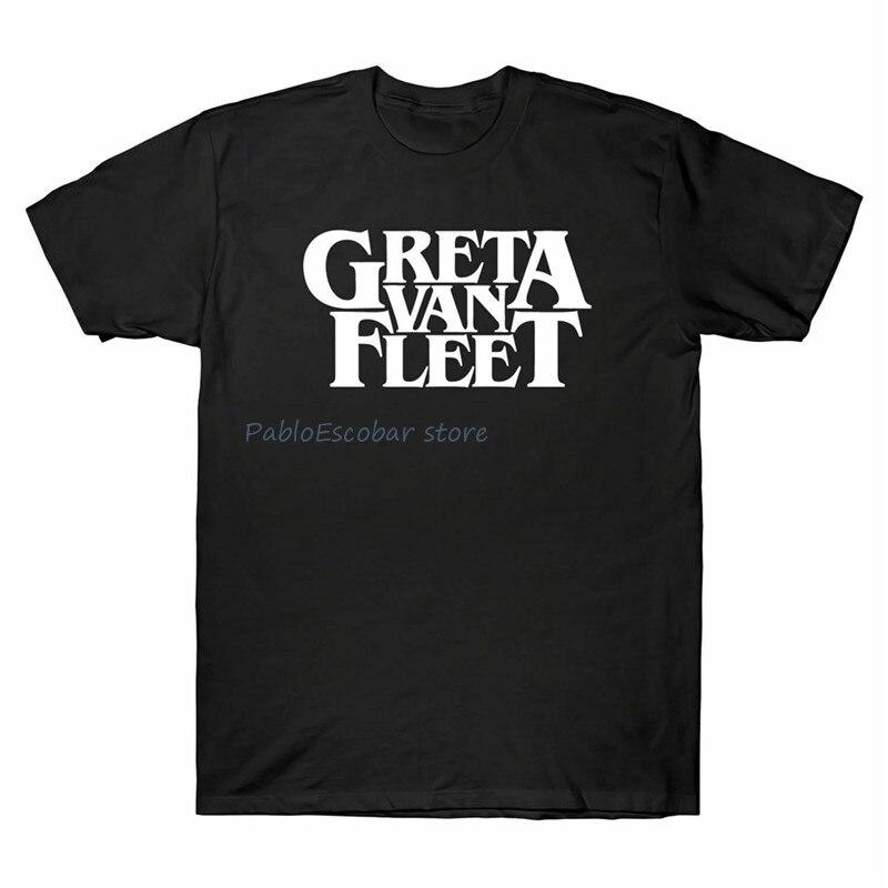 Camiseta divertida del cartel de la gira del concierto de Greta Van Fleet camiseta para hombres camiseta ropa Casual camiseta